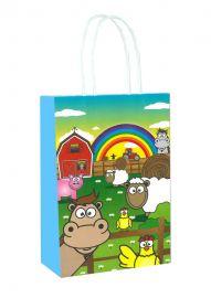 Farm Themed Paper Loot Bag